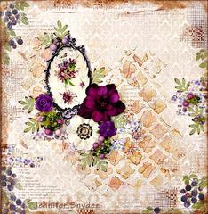 Vintage Violets -Maja Design