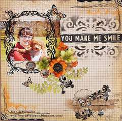 You Make Me Smile - Scraps Of Darkness