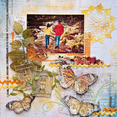 Butterfly Garden - Scraps Of Elegance