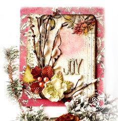 Christmas Card with Prima