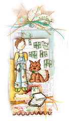 New Prima Julie Nutting Stamps - Toby