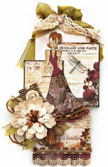Megan Doll Stamp - Prima and Julie Nutting