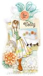 Doll Tag for Relaxation - Prima DT