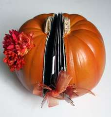 Pumpkin Minibook Outside