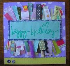Ribbon Card - Happy Birthday!