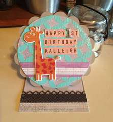 Happy 1st Birthday Kalleigh