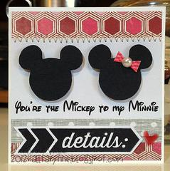 You're the Mickey to my Minnie