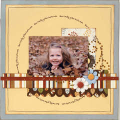Fall Fun 12x12 Layout