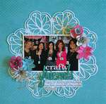 Crafty Girls by Guiseppa Gubler