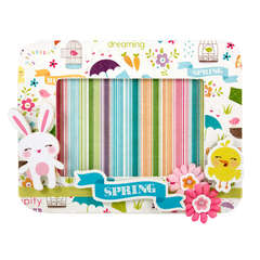 Spring Frame featuring Hippity Hop from Imaginisce