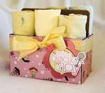 Little Cutie Baby Blankie 6-pack Gift Set by Tracey Taylor