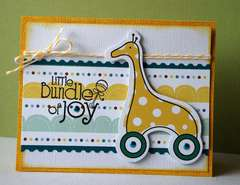 Little Cutie Bundle of Joy Card