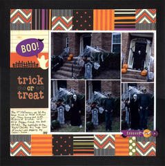 Boo!  Trick or Treat