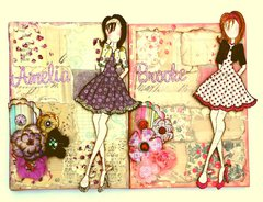 Amelia & Brooke canvases