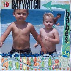 BAYWATCH babes