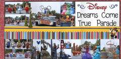Disney Dreams Come True Parade