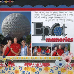 Epcot Memories