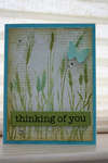 Thinking of You - Silhouette Grass