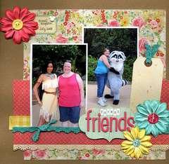 Forest Friends (Pocahontas)