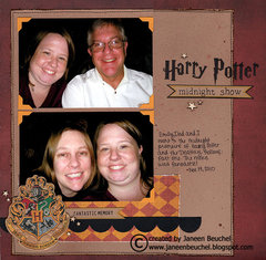 Harry Potter Midnight Show