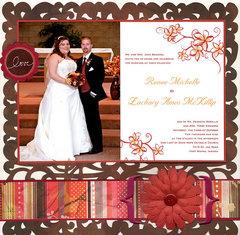 Wedding Album Title Page