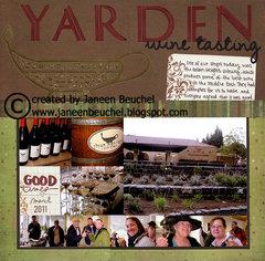 Yarden Wine Tasting