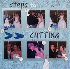 Steps to Cutting the Cake