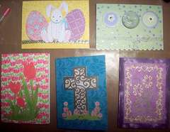Easter cards 2009