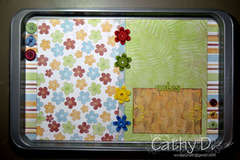 Altered Cookie Sheet