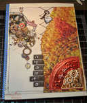 Altered Book Art Journal - Hybrid