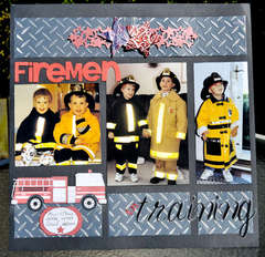 Firemen in Training