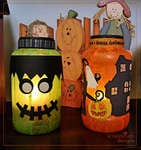 Halloween Lanterns Home Decor