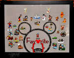 Disney Pin Shadow Box