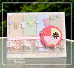 Welcome Baby Girl Card *Hybrid*