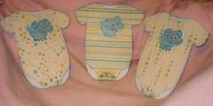 Baby Onesies Card ~Sizzix~