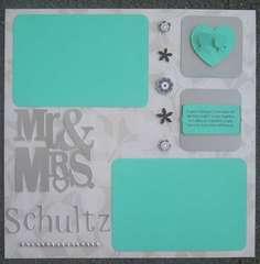 mr. and mrs. schultz