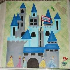 Disney Princess Castle Paper Piecing