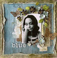 Blue   **ScrapThat! April Kit**