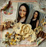 Mona Lisa Smile  **ScrapThat!May Anniversary kit**
