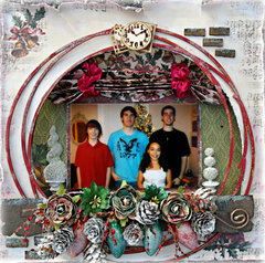 A Window in Time   **C'est Magnifique December kit**