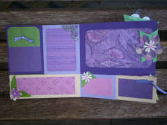 Purple Flip book