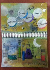 PDF Art Journal Swap - Terri's entry