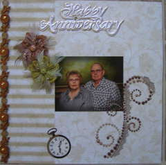 50th Wedding Anniverary