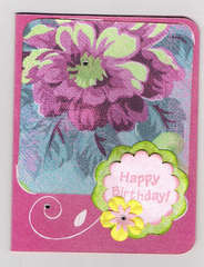 Card for my Great Grandma's Birthday