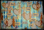 Art Journaling Page***Splash Of Color***