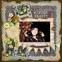Winter Beauty***Swirlydoos Kit Club***