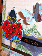 Thanks - Lulu Loves Poppies - close up