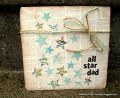 All Star Dad Card