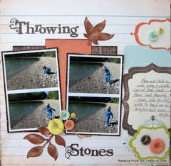 Throwing stones *Tidbitz In Time*