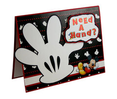 Need a Hand Card - by Karen Bulmahn